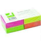 Q-Connect QuickNote 75x75mm Neon (Pack of 12)